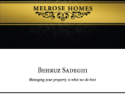 Melrose card